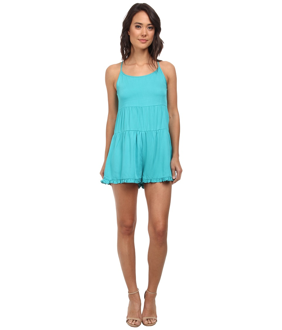 MINKPINK - Lollipop Playsuit One-Piece (Green) Women's Jumpsuit & Rompers One Piece