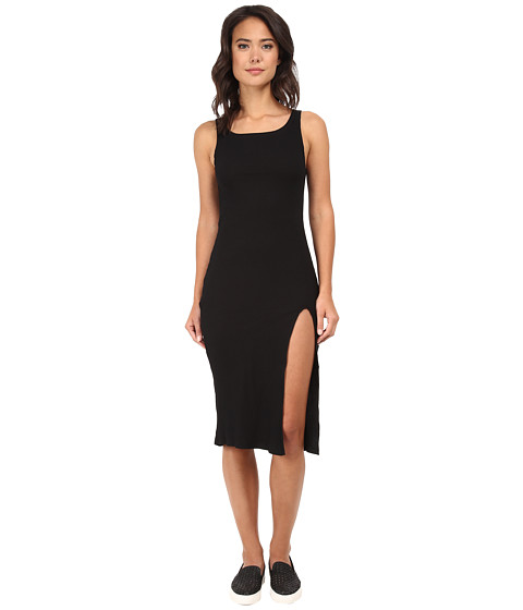 MINKPINK - Static Maxi Dress (Black) Women's Dress