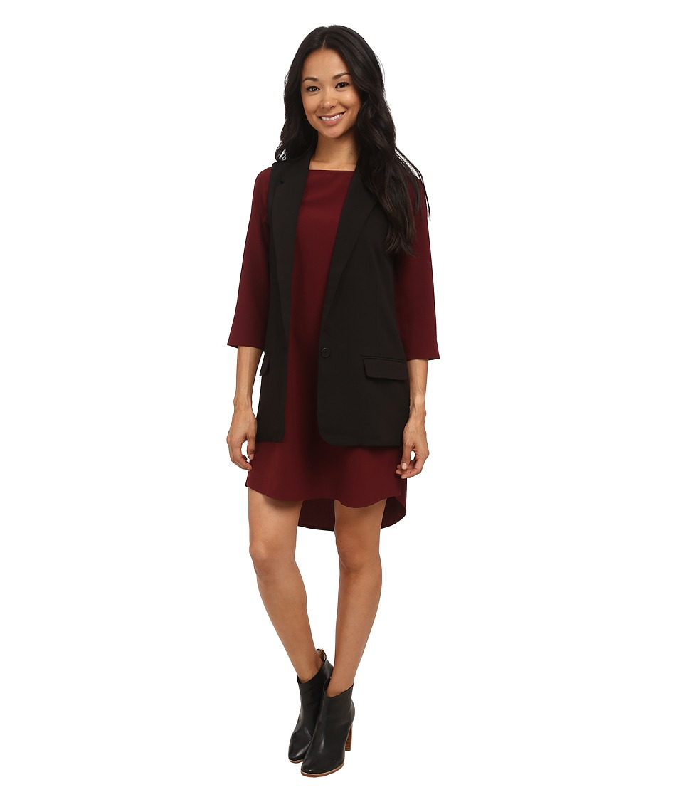 BB Dakota - Malcolm Blazer Vest (Black) Women