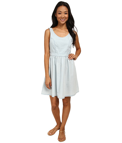 MINKPINK - Last Summer Midi Dress (Chambray 2) Women