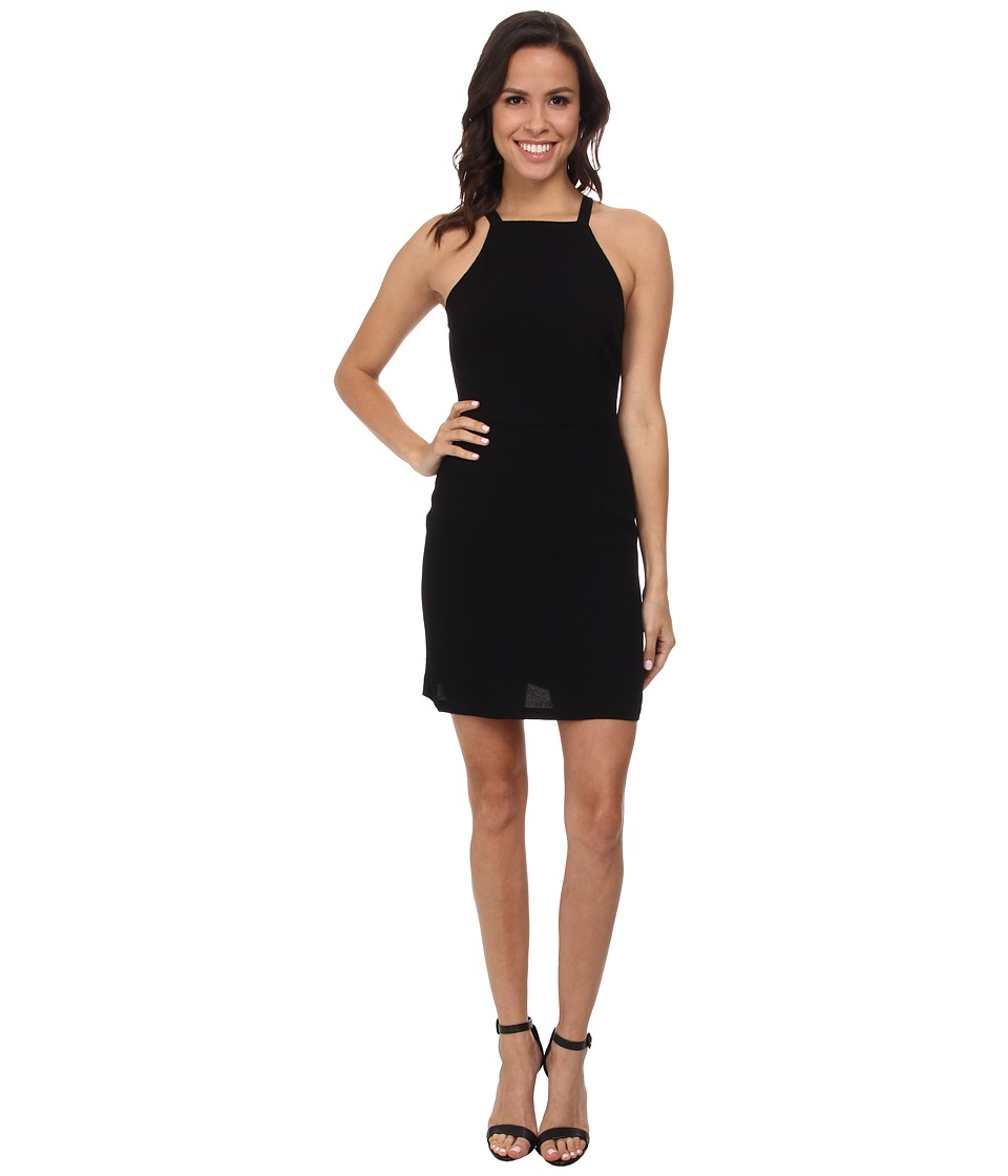 MINKPINK - Paper Planes Mini Dress (Black) Women's Dress