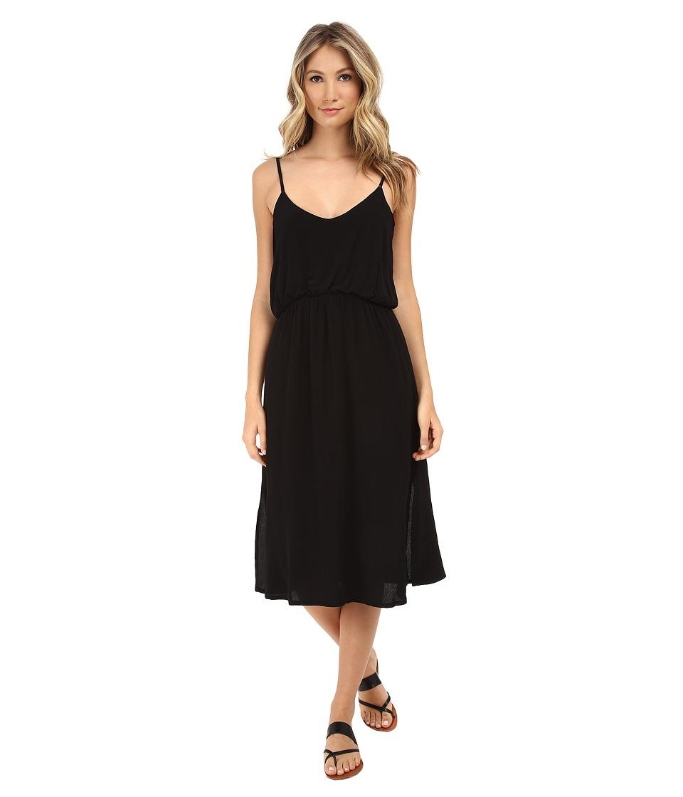 MINKPINK Cleopatra Midi Dress (Black) Women