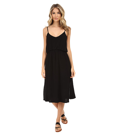 MINKPINK - Cleopatra Midi Dress (Black) Women's Dress