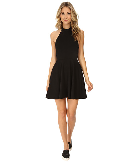 MINKPINK - Poetic Justice Halter Dress (Black) Women