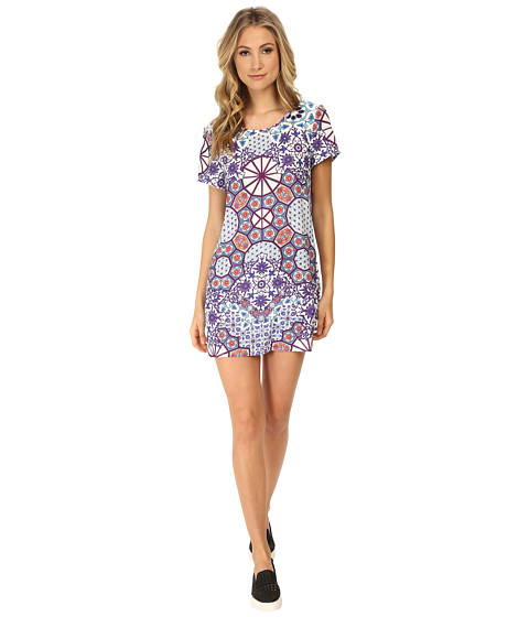 MINKPINK - Whisper Of The Heart Tee Dress (Multi) Women