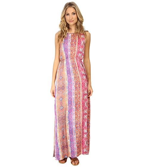 MINKPINK - Magenta Carpet Maxi Dress (Multi) Women's Dress