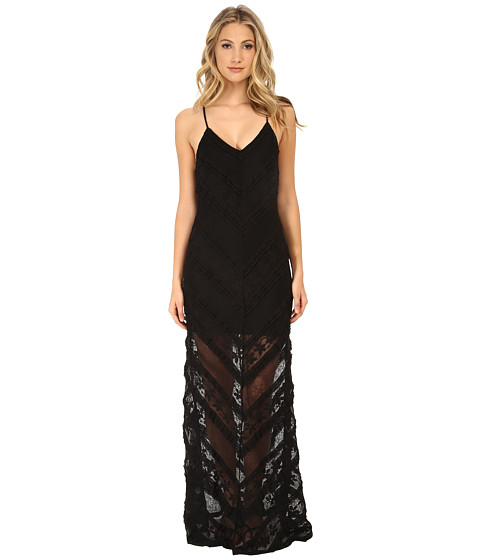 MINKPINK - The Rum Diary Maxi Dress (Black) Women's Dress