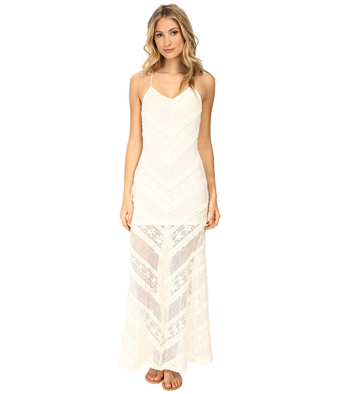 MINKPINK - The Rum Diary Maxi Dress (Cream) Women's Dress