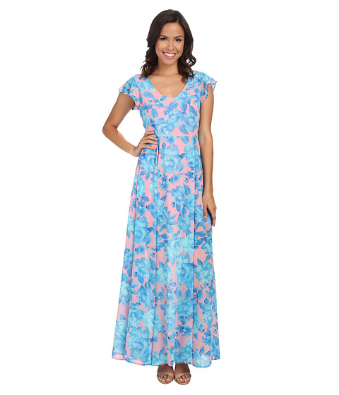 MINKPINK - Bubblegum Blossom Maxi Dress (Multi) Women