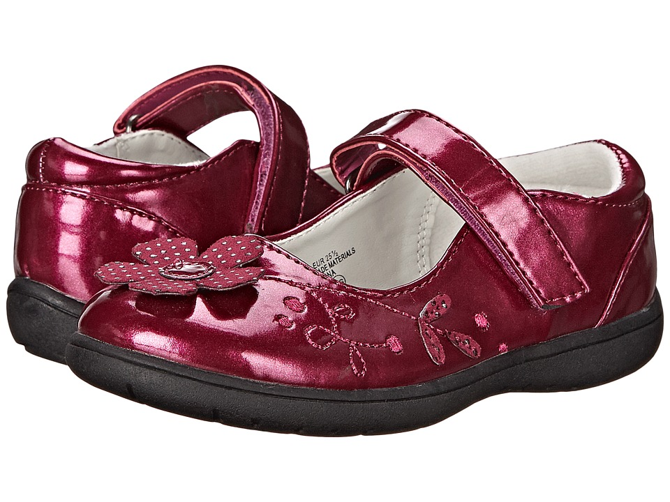 Nina Kids - Agatha (Toddler/Little Kid) (Berry Patent) Girl's Shoes