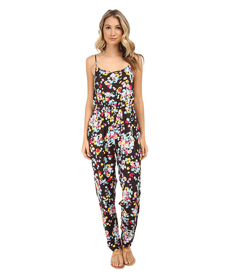 MINKPINK - Floral Pop Jumpsuit (Multi) Women's Jumpsuit & Rompers One Piece