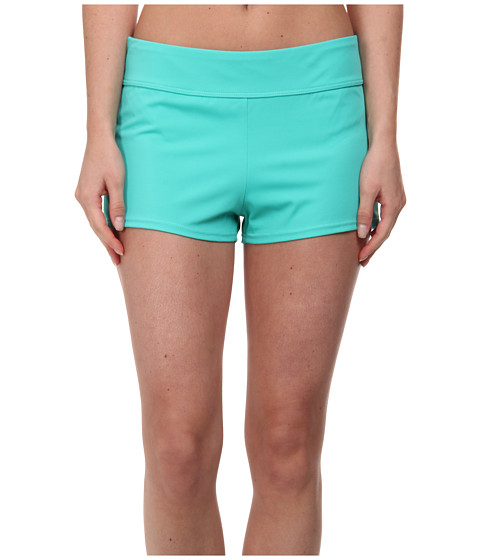 Next by Athena - Solid Short Swimwear Bottom (Green) Women's Swimwear