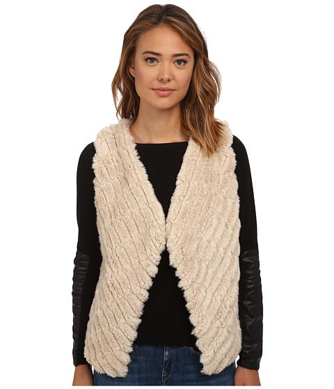 BB Dakota - Keith Faux Fur Vest (Oatmeal) Women's Vest