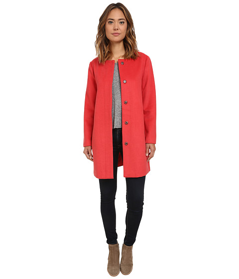 BB Dakota - Catina Wool Blend Coat (Persimmon) Women's Coat