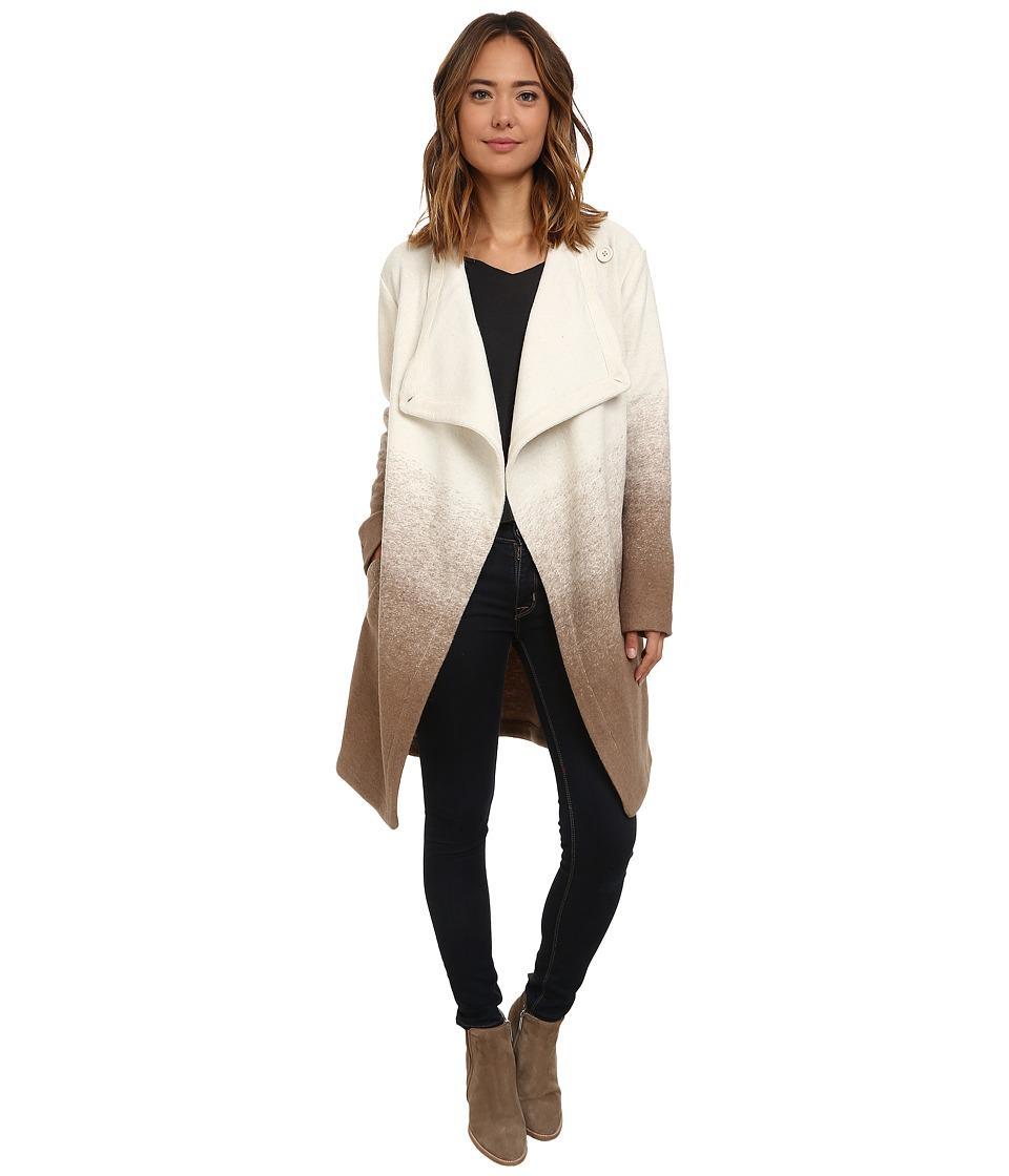 BB Dakota - Emerson Ombre Fuzzy Wool Coat (Churro) Women