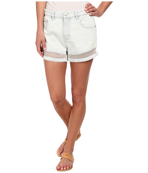MINKPINK - Shadows In The Sun Shorts (Ice Blue) Women's Shorts