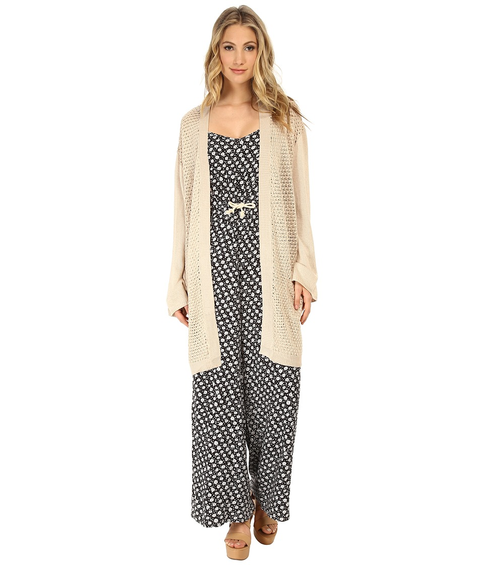 MINKPINK - Ghost Ship Cardigan (Natural) Women