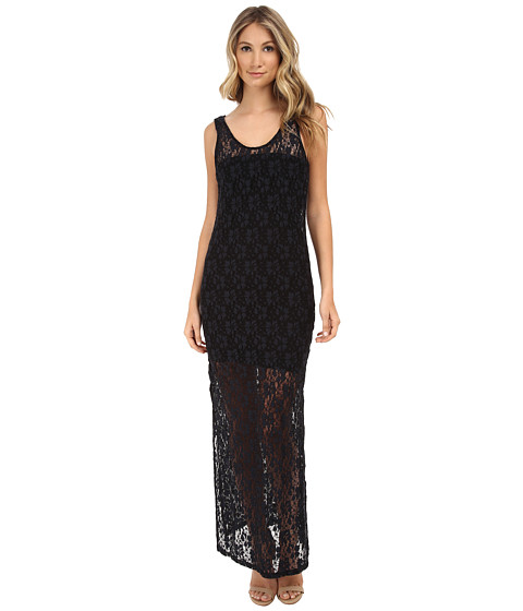 MINKPINK - Dancing in The Dark Maxi Dress (Black) Women