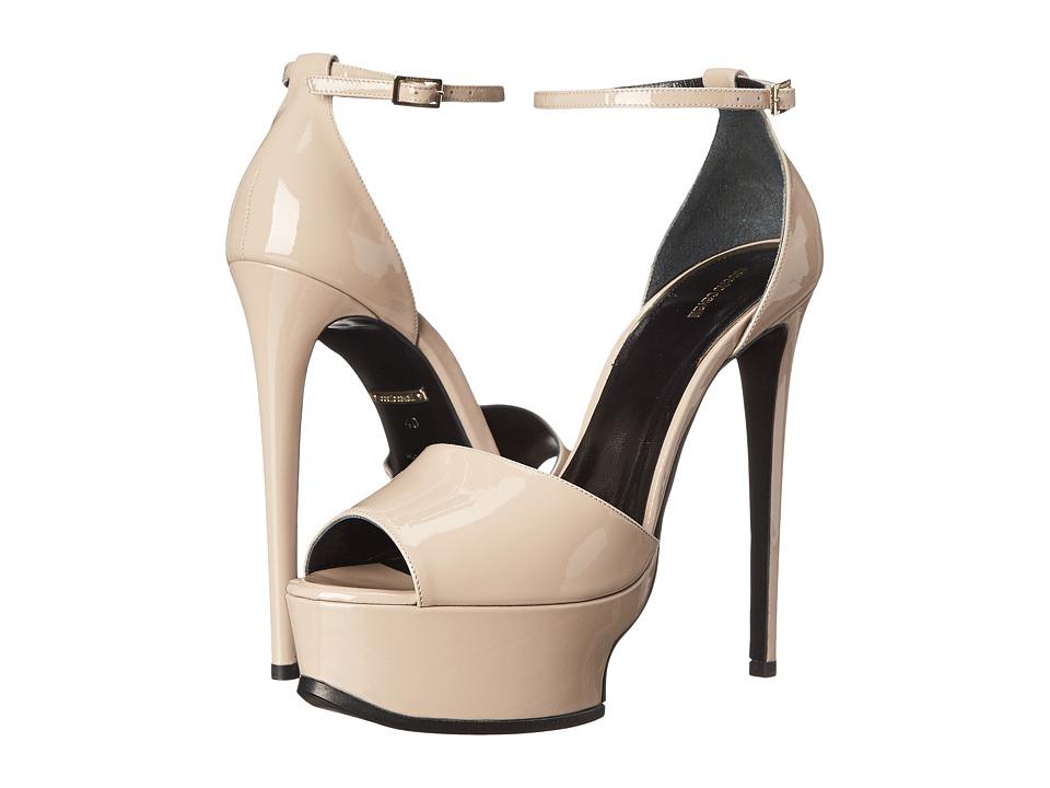 Roberto Cavalli - Geisha Patent Sandal (Desert Sand) Women's Sandals