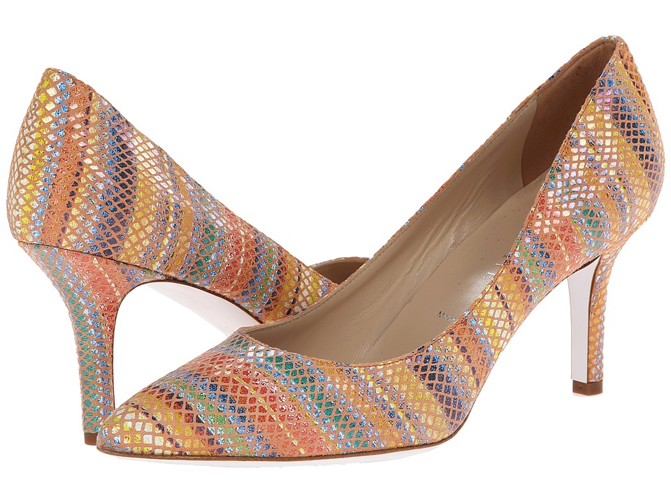 Ron White - Carmen (Sun Multi Rania Printed Suede) High Heels