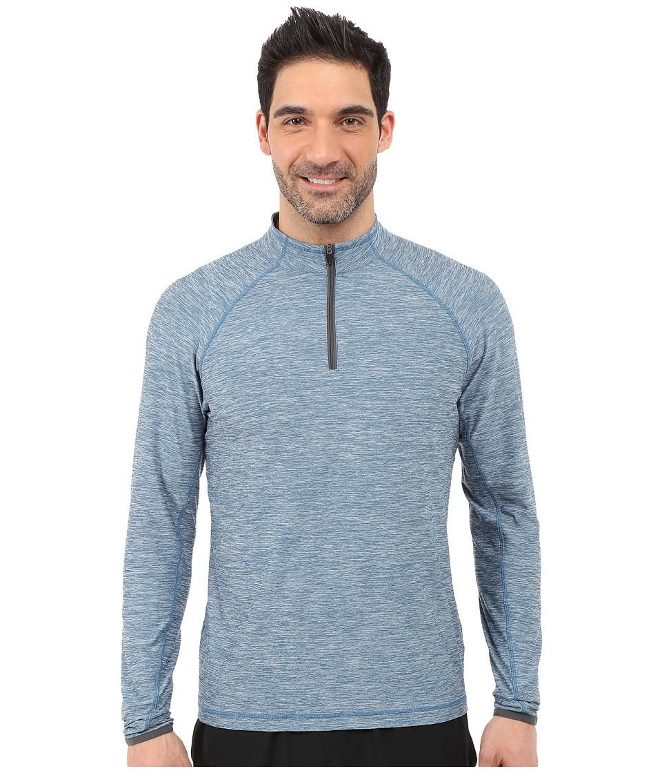 Soybu - Continuum 1/2 Zip (Poseidon) Men's Long Sleeve Pullover