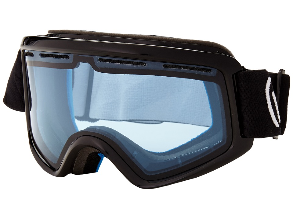 VonZipper - Beefy (Black Gloss/Nightstalker Blue) Snow Goggles
