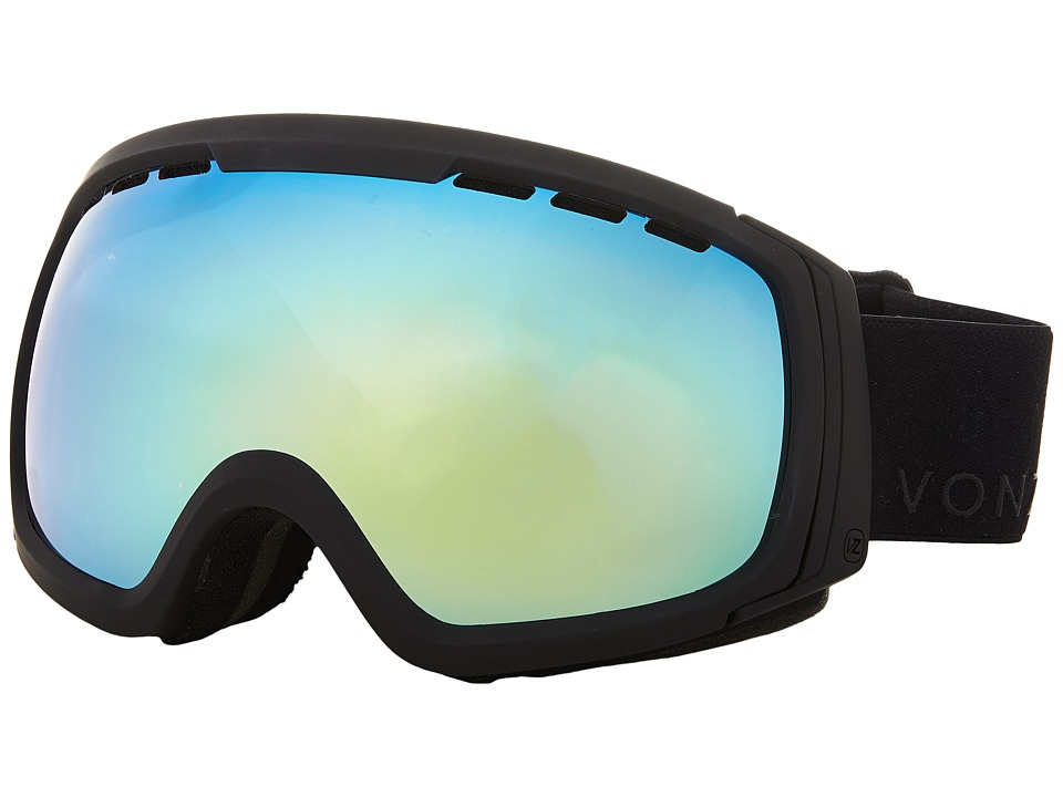 VonZipper - Feenom - N.L.S. (Black Gold/Gold Chrome) Snow Goggles