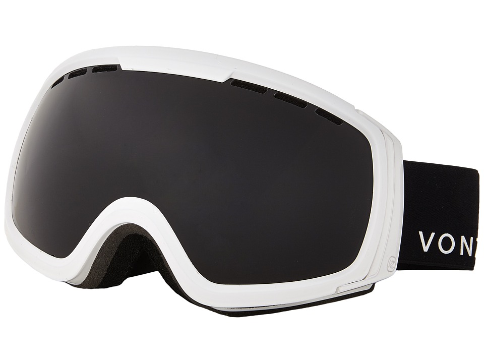 VonZipper - Feenom - N.L.S. (White Gloss/Blackout) Snow Goggles