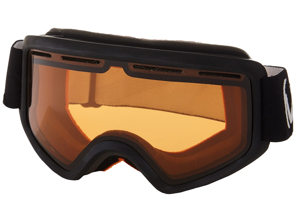 VonZipper - Beefy (Black Satin/Persimmon) Snow Goggles
