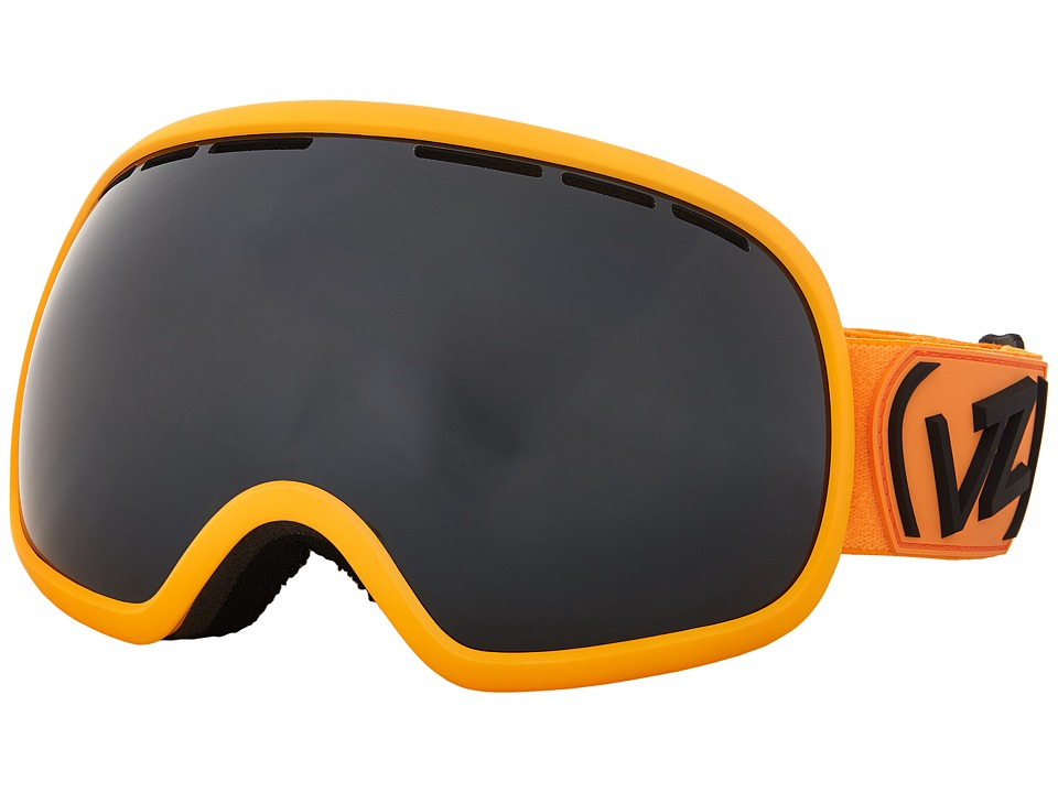 VonZipper - Fishbowl (Flash Orange/Black Chrome) Snow Goggles