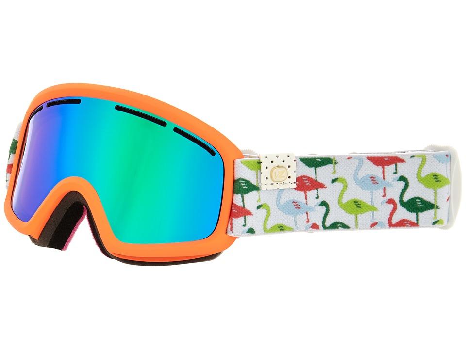 VonZipper - Trike (Spoonbill Coral/Quasar Chrome) Snow Goggles