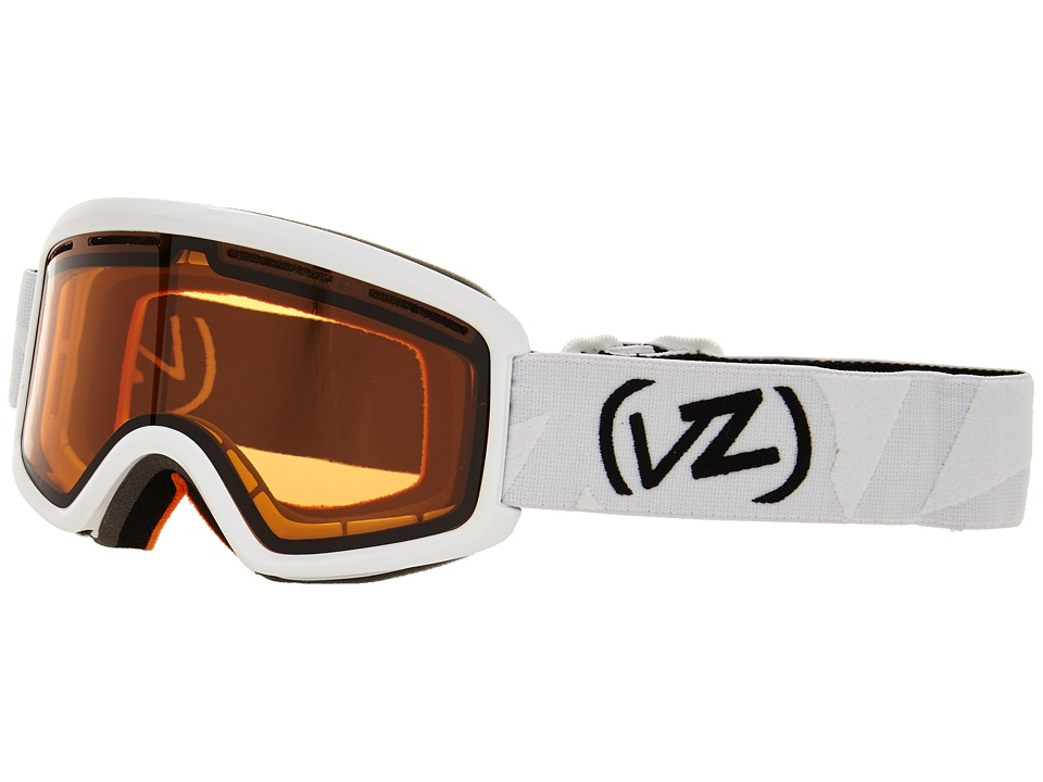 VonZipper - Beefy (White Gloss/Persimmon) Snow Goggles