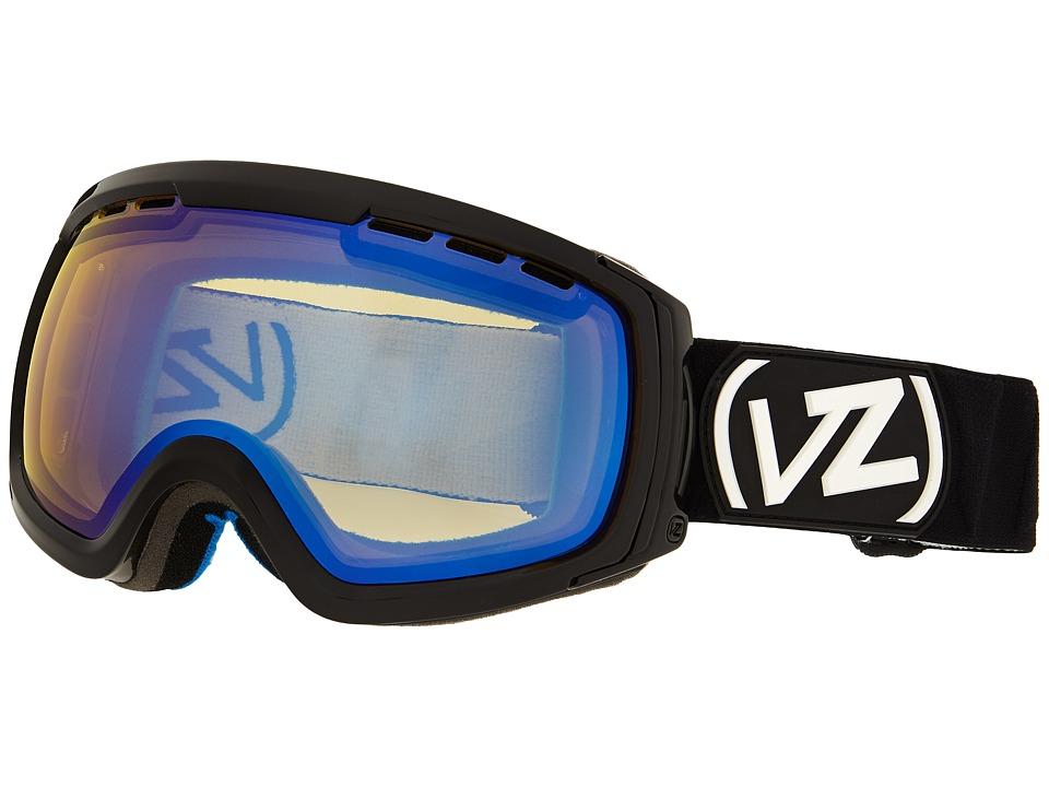 VonZipper - Feenom - N.L.S. (Project Flatlight Black Gloss/Yellow Chrome) Snow Goggles