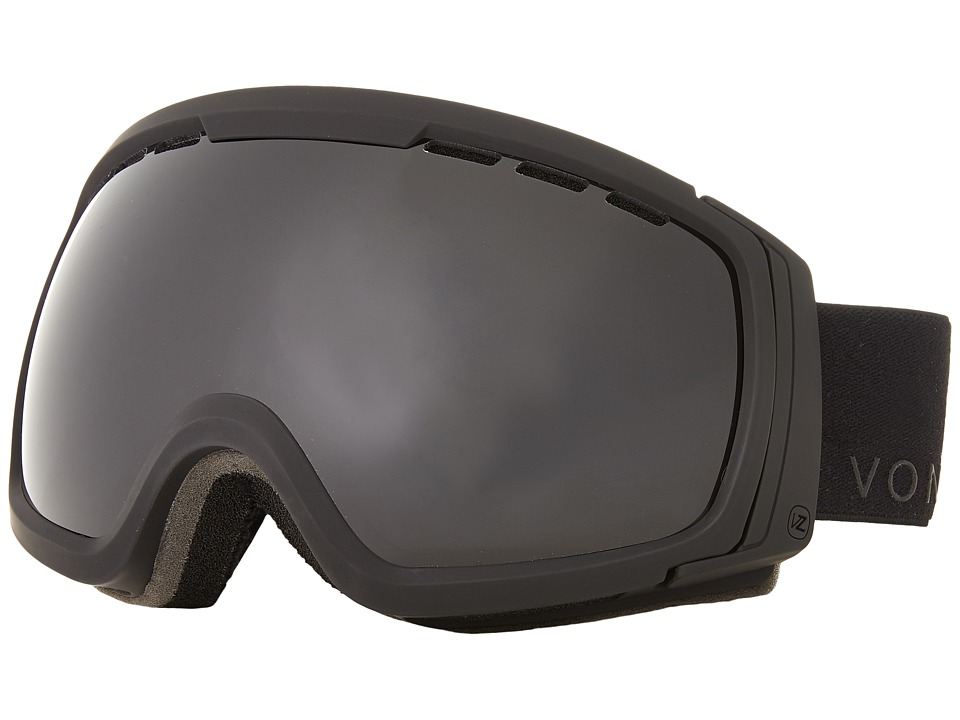 VonZipper - Feenom - N.L.S. (Black Satin/Blackout) Snow Goggles