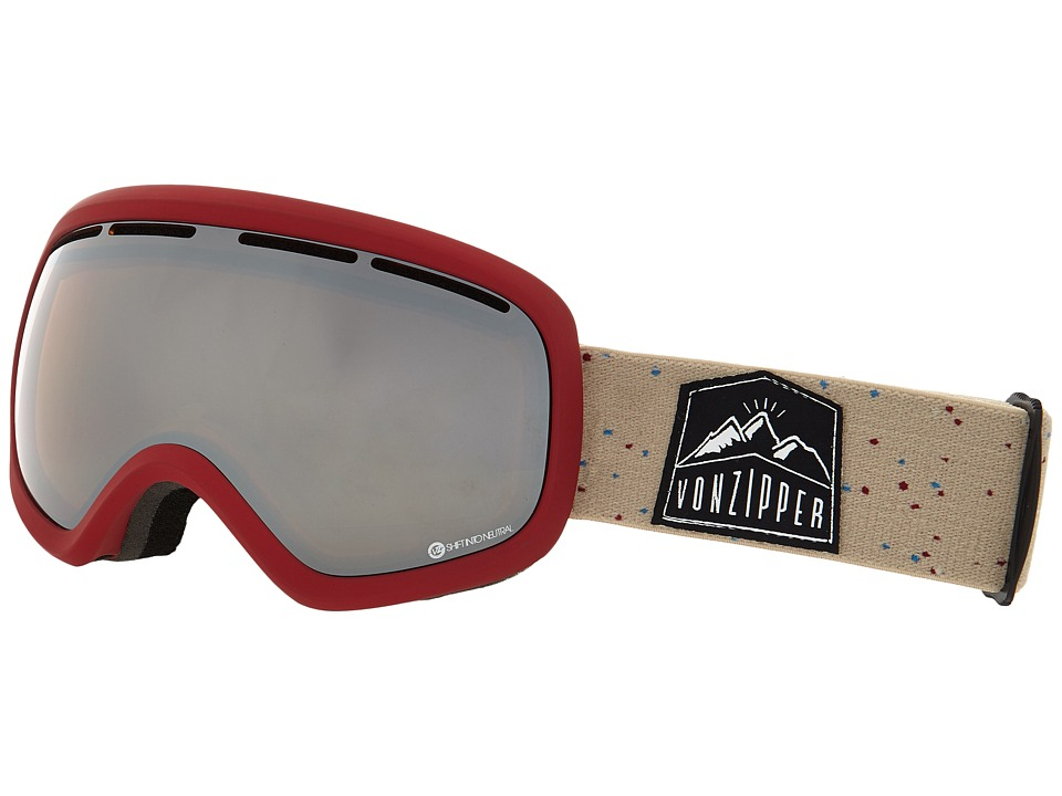 VonZipper - Skylab (S.I.N. Red/Persimmon Chrome) Snow Goggles