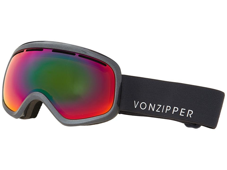VonZipper - Skylab (Charcoal Metallic/Trudef) Snow Goggles
