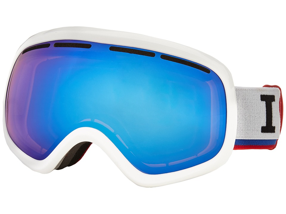 VonZipper - Skylab (White Gloss/Sky Chrome) Snow Goggles