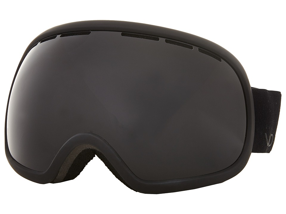 VonZipper - Fishbowl (Black Satin/Blackout) Snow Goggles