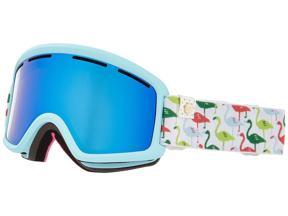VonZipper - Beefy (Spoonbill Blue/Sky Chrome) Snow Goggles
