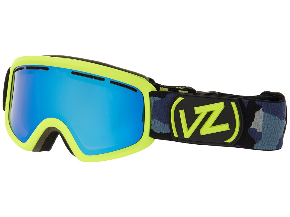 VonZipper - Trike (Calicamo Green/Sky Chrome) Snow Goggles