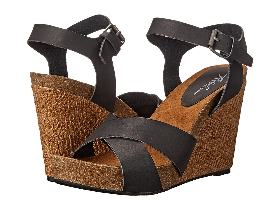Rebels - Blayr (Black) Women's Wedge Shoes