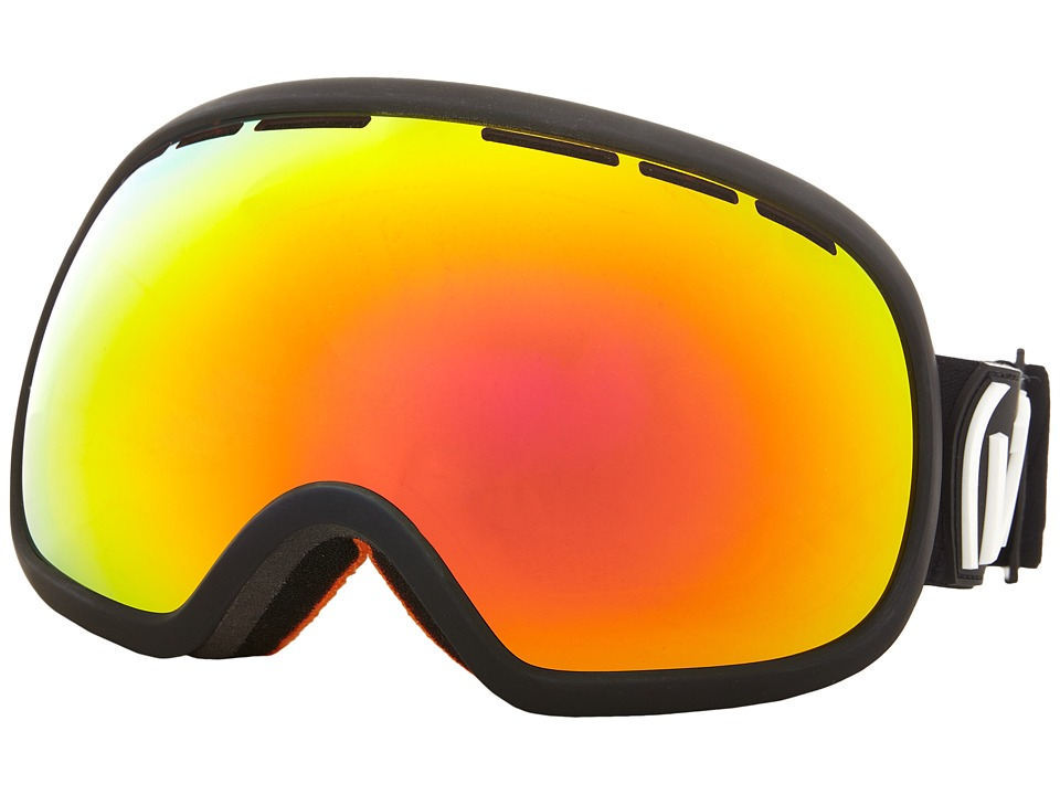 VonZipper - Fishbowl (Black Satin/Fire Chrome 1) Snow Goggles