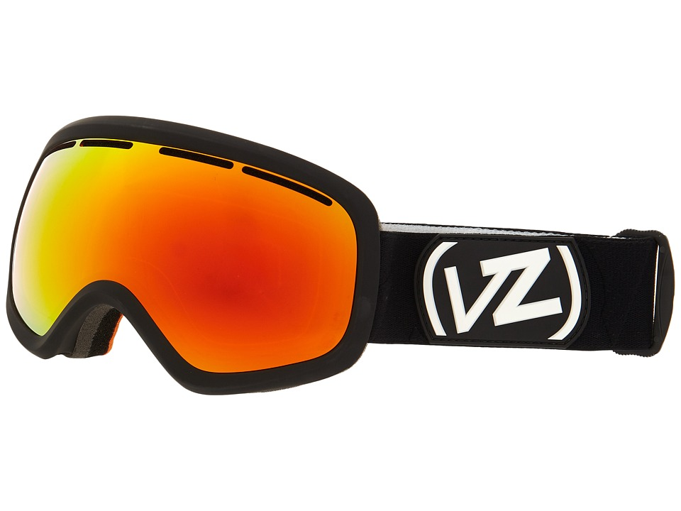 VonZipper - Skylab (Black Satin/Fire Chrome 1) Snow Goggles