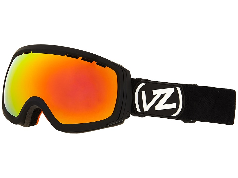 VonZipper - Feenom - N.L.S. (Black Satin/Fire Chrome 1) Snow Goggles