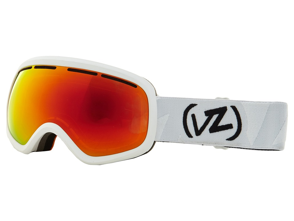 VonZipper - Skylab (White Satin/Fire Chrome 1) Snow Goggles