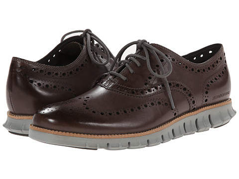 Cole Haan - Zerogrand Wing Ox (Pewter) Men
