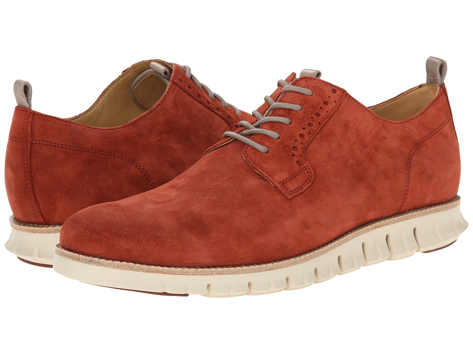 Cole Haan Zerogrand Plain Oxford (Burnt Henna) Men