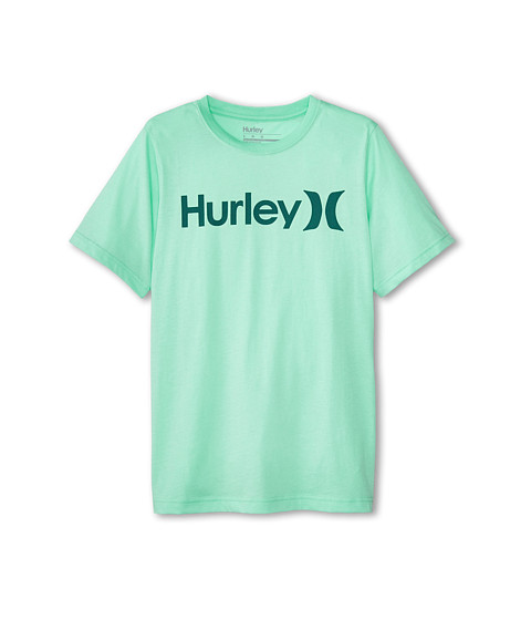 Hurley Kids - One Only Tee (Big Kids) (Green Glow) Boy's T Shirt