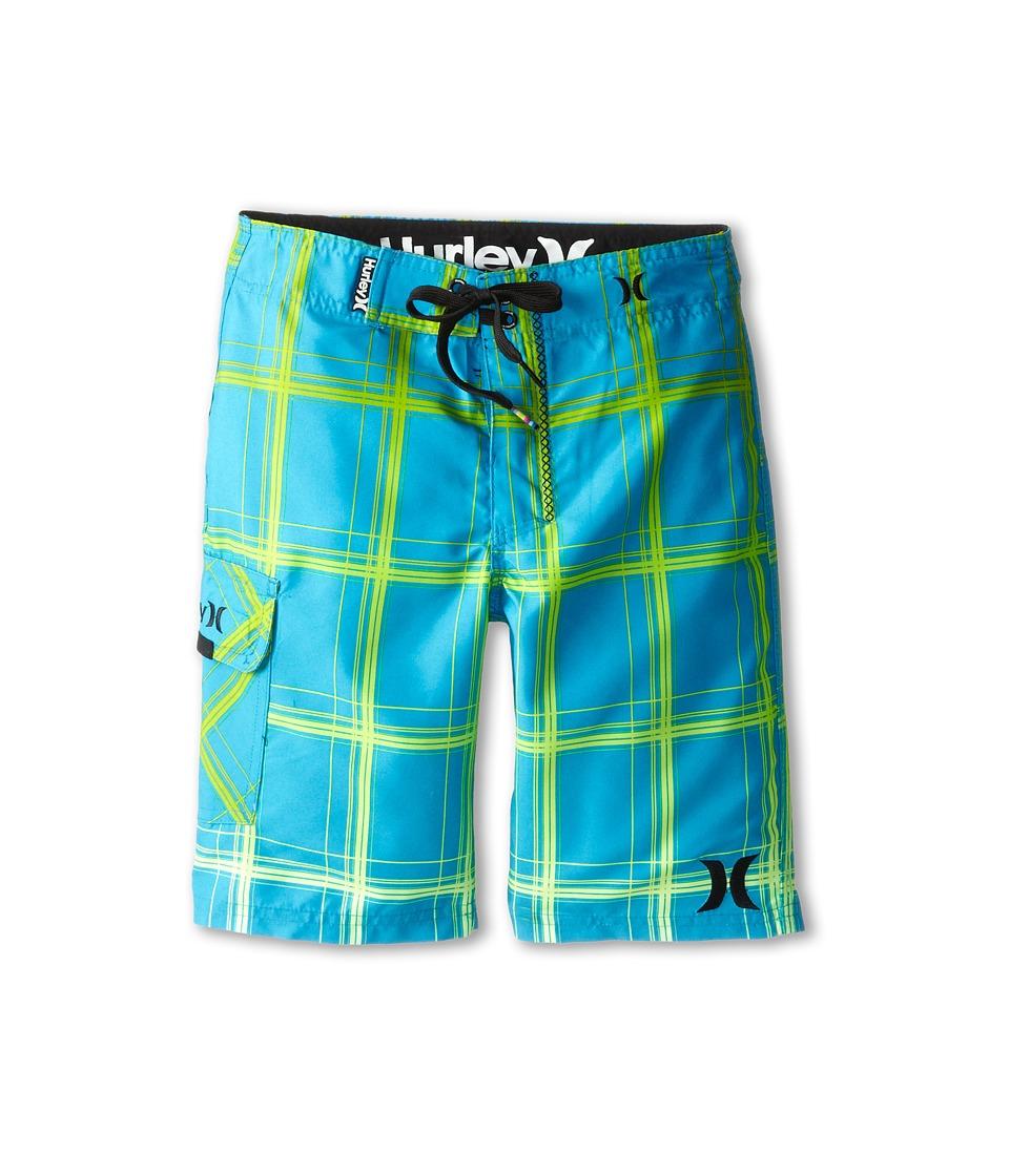 Hurley Kids - Puerto Rico Boardshorts (Big Kids) (Blue Lagoon) Boy's Swimwear