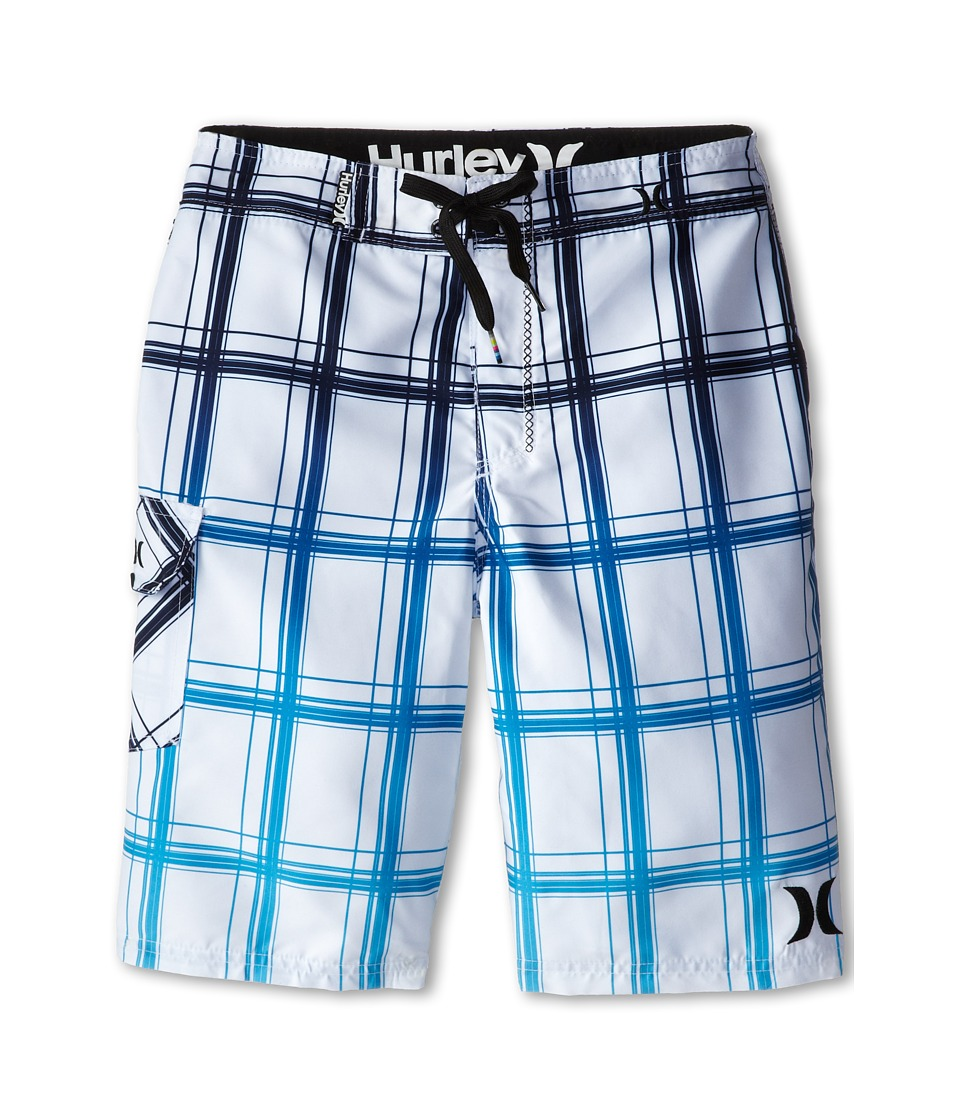 Hurley Kids - Puerto Rico Boardshorts (Big Kids) (White) Boy's Swimwear